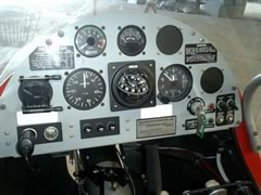 Quicksilver GT500 instrument panel